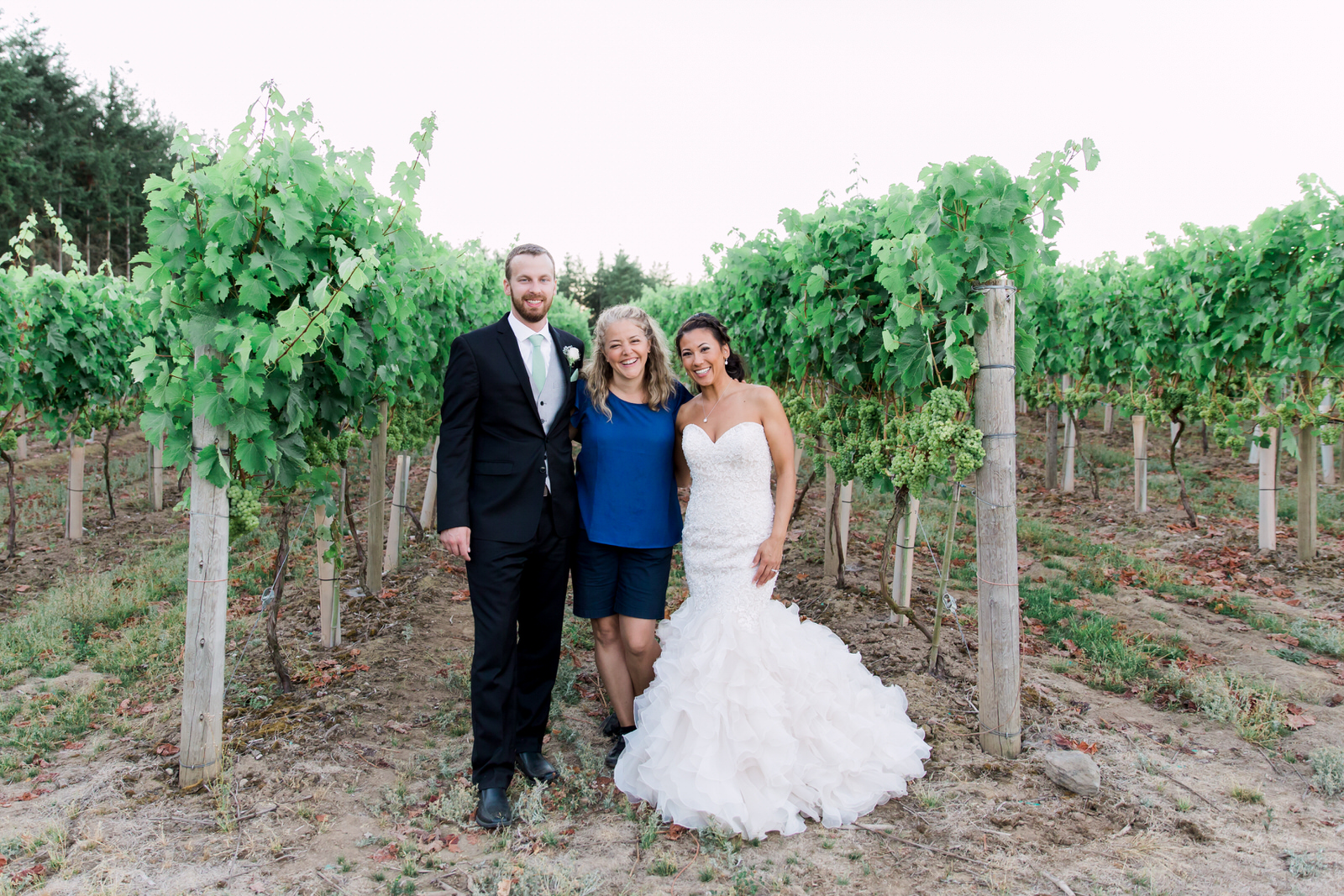 Glass House Estate Winery, Langley Wedding