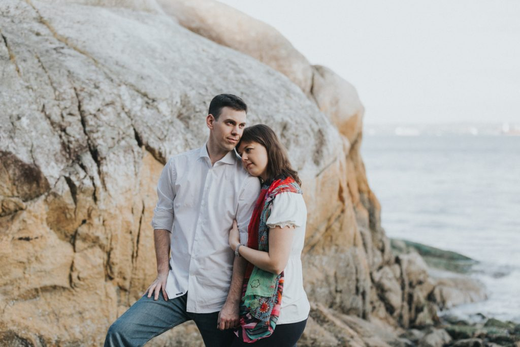 Steve&Vanessa.Engagement Photoshoot.Lighthouse Park, BC
