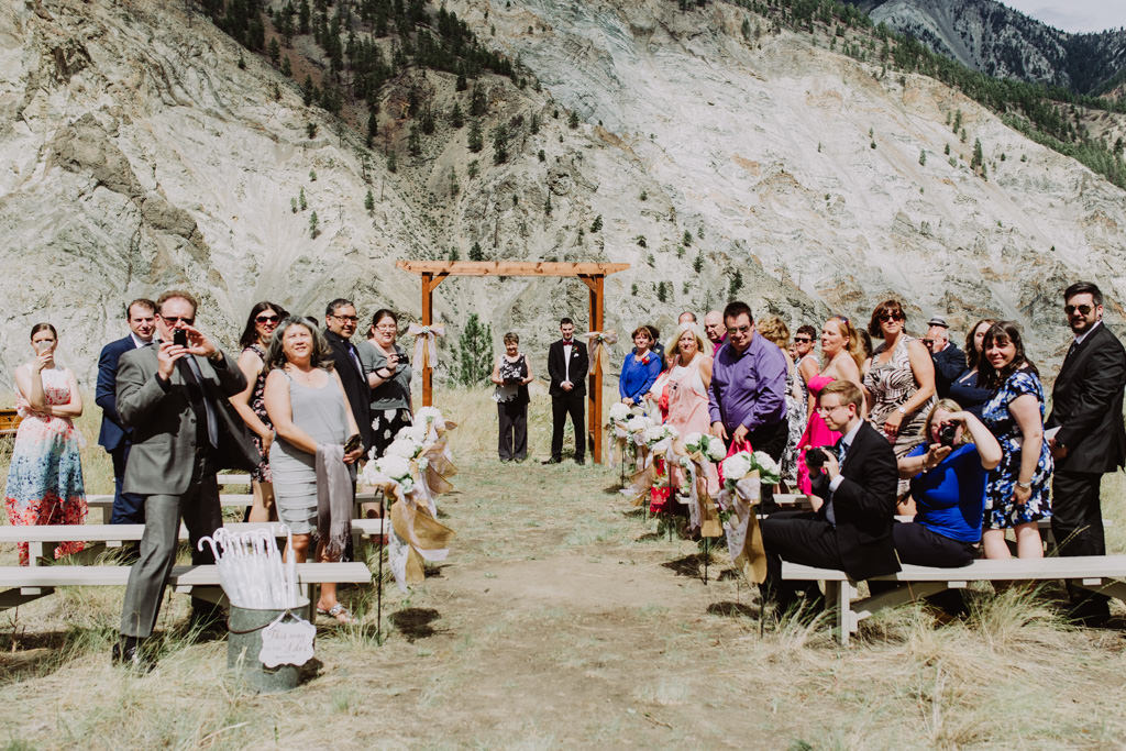 Steve & Vanessa's Wedding | Kumsheen River Rafting, Lytton