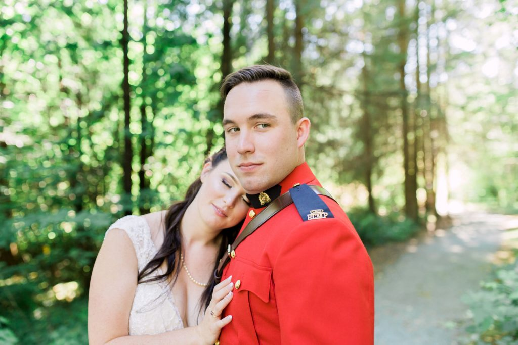 Canadian Wedding Photography - Mountie