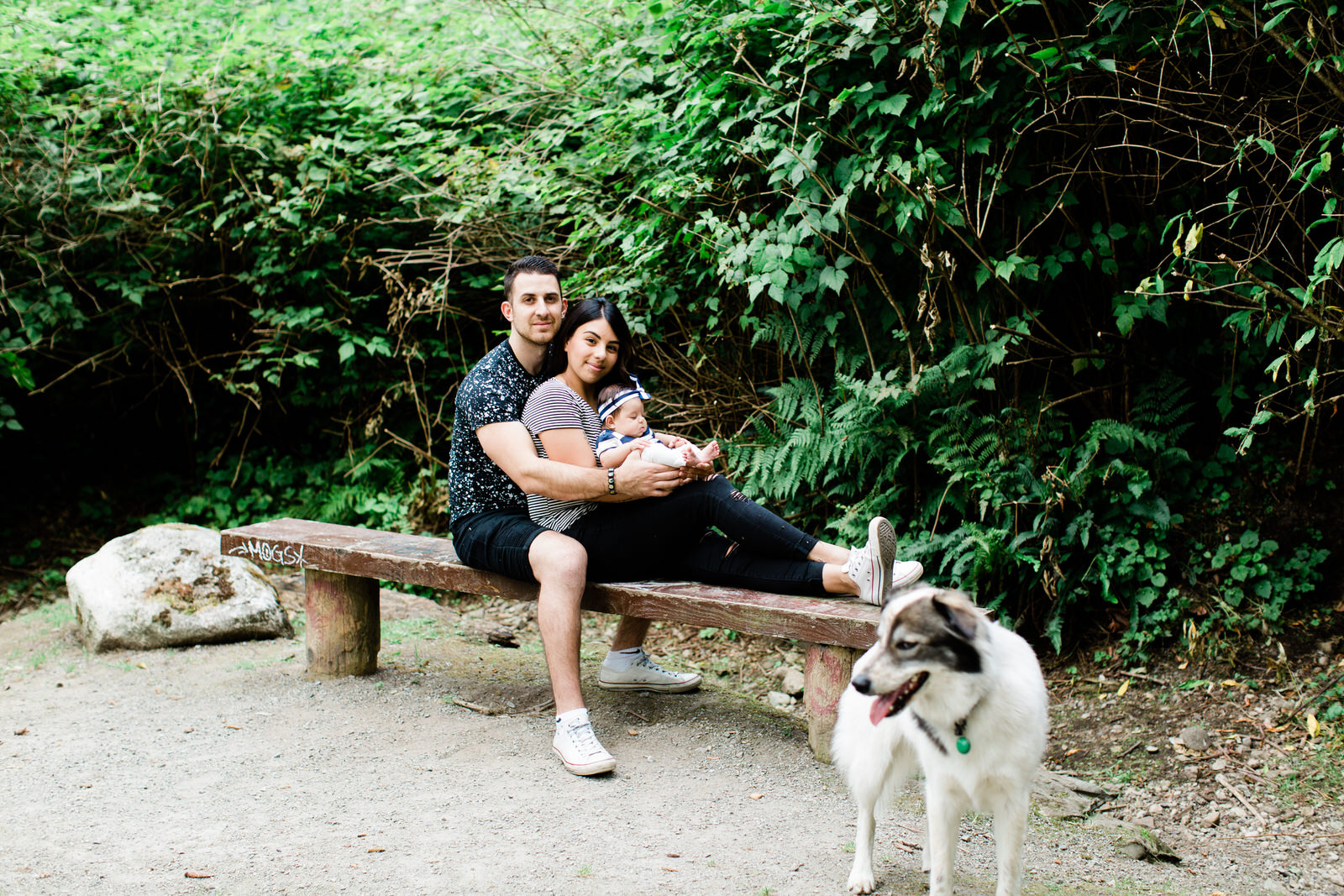 outdoor family session, Fraser Valley family photography
