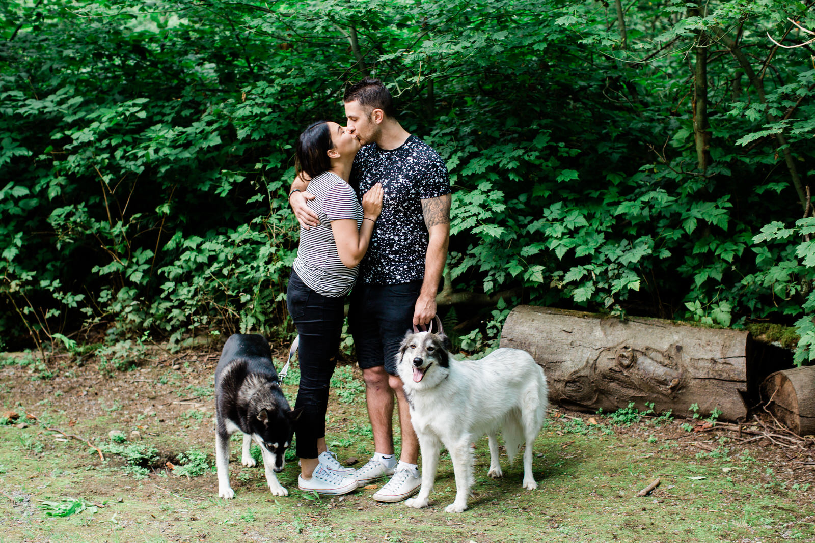 West Coast Outdoor family session with dogs, Michele Mateus Photography