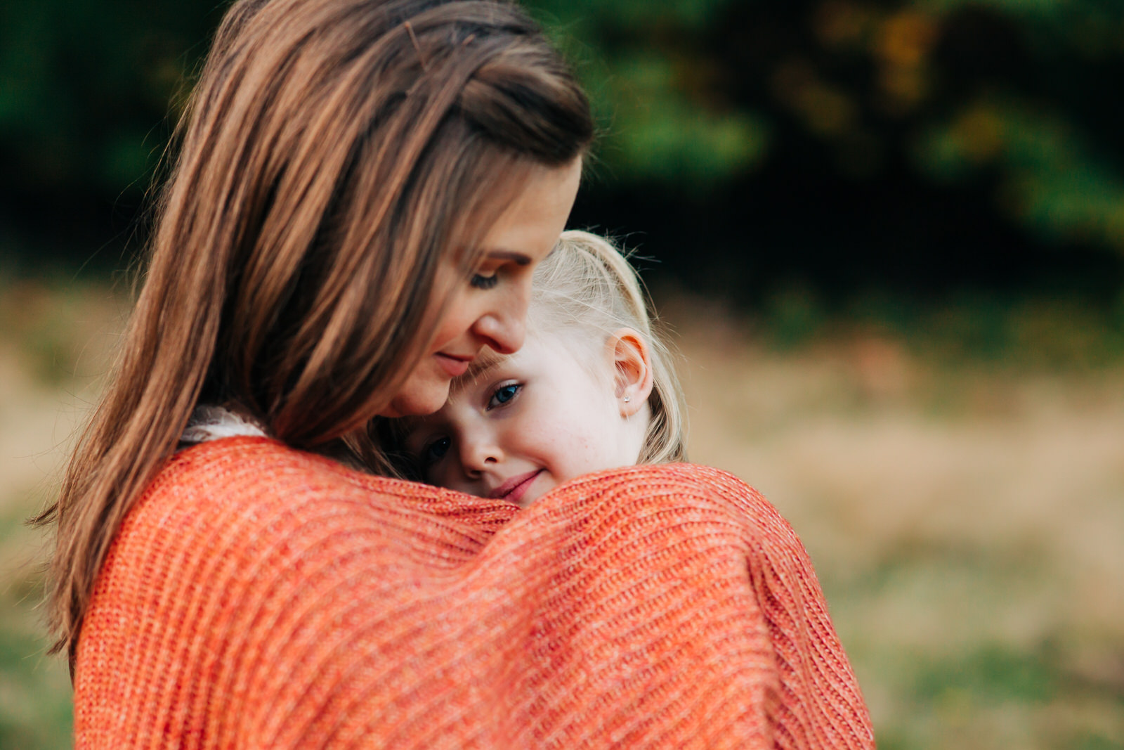 mother and daughter portraits, outdoor family photography session, West Coast photography,