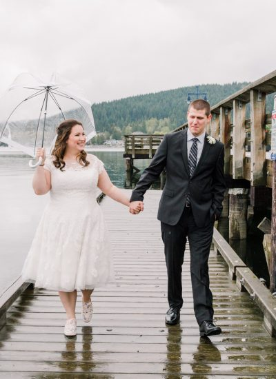 lakeside wedding, Michele Mateus Photography, romantic outdoor wedding, rainy Vancouver wedding,