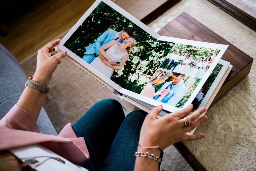 Top 4 Reasons to Invest in a Wedding Album by Michele Mateus Photography
