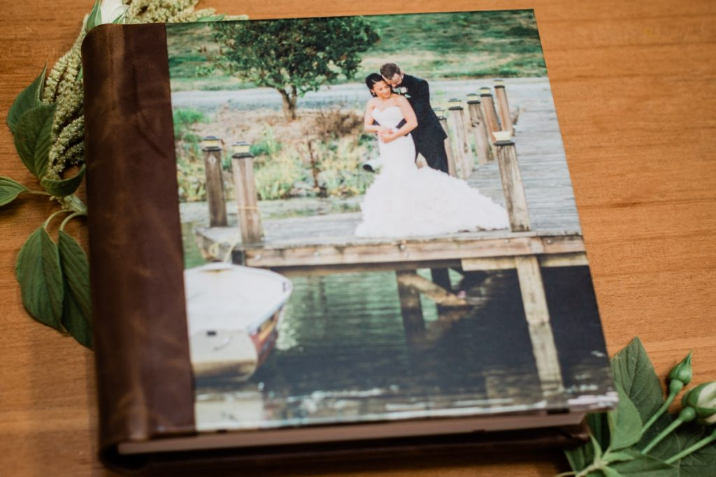 Why We Recommend Investing in a Custom Wedding Album by Michele Mateus Photography