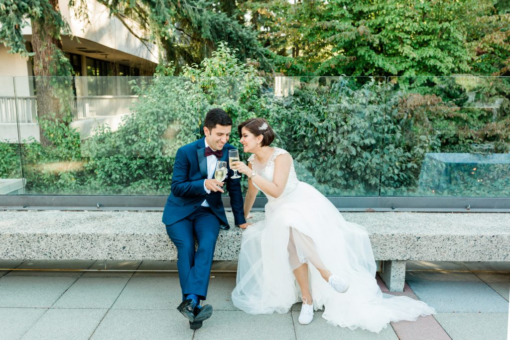 Epic Vancouver Wedding by Michele Mateus Photography